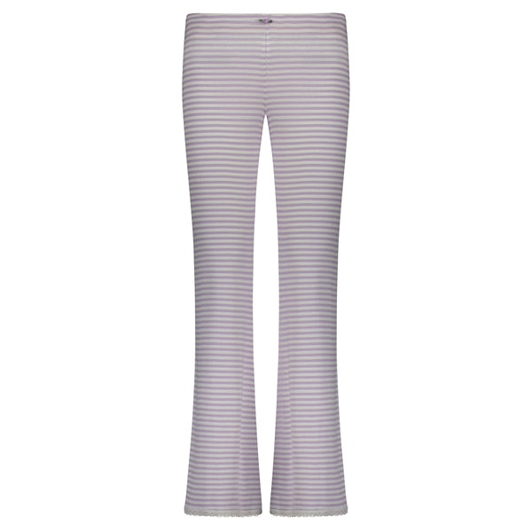 Polkadot PANT Lilac Sailor Stripe w Lace