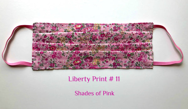 MASK Liberty Print # 11  Shades of Pink