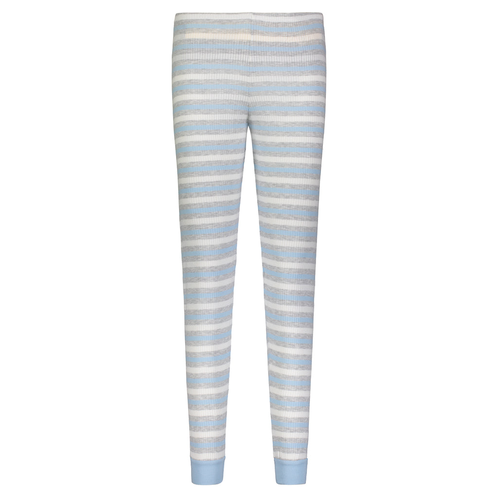 Polkadot JOGGER Blue Lee Rib Stripe