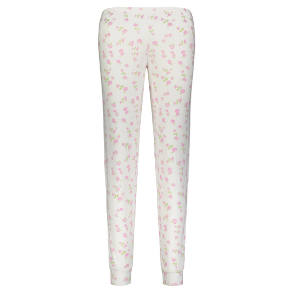 Polkadot ROSE PRINT JOGGER -In Stock