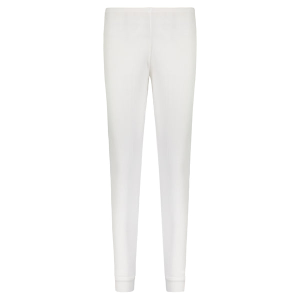 Polkadot JOGGER Pearl White Solid Knit -MORE COMING