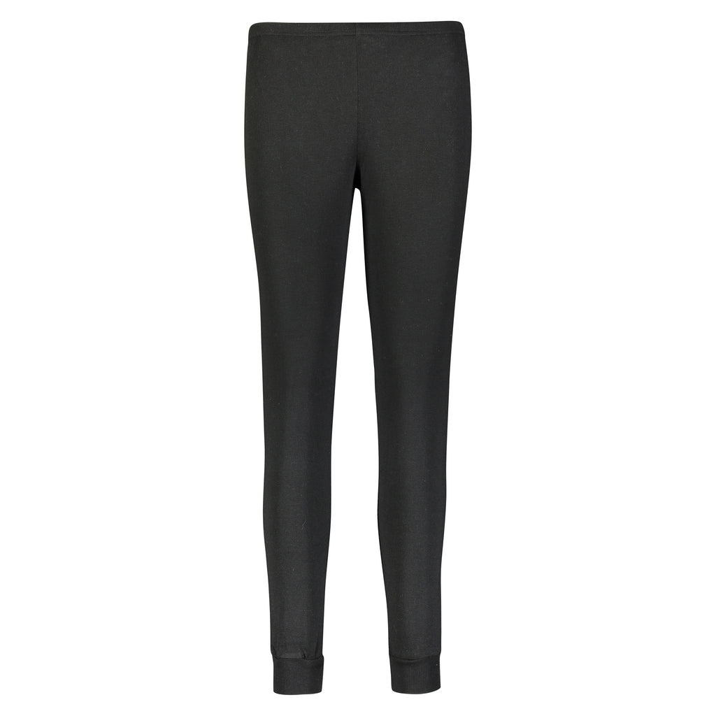Polkadot Solid Knit JOGGER BLACK ~NEW HI RISE