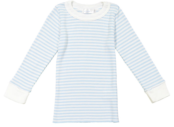 Polkadot BOYS OCEAN BLUE Sailor Stripe PJ CREW LS