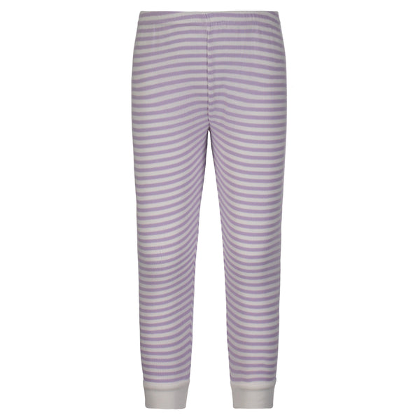 Polkadot GIRLS JOGGER Lilac Sailor Stripe