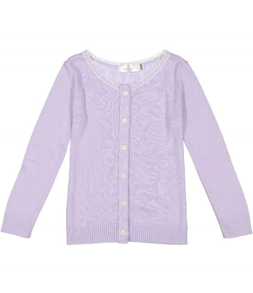 Polkadot usa Girls Lilac Cardigan
