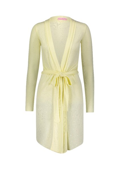 Polkadot ROBE LEMON DOT POINTELLE