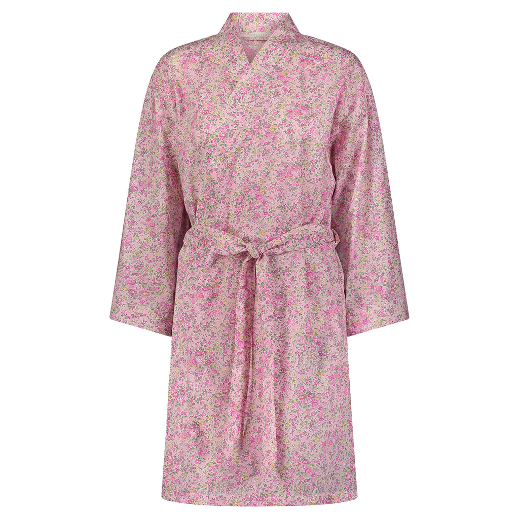 Polkadot ROBE LIBERTY PRINT # 11 -Shades of Pink