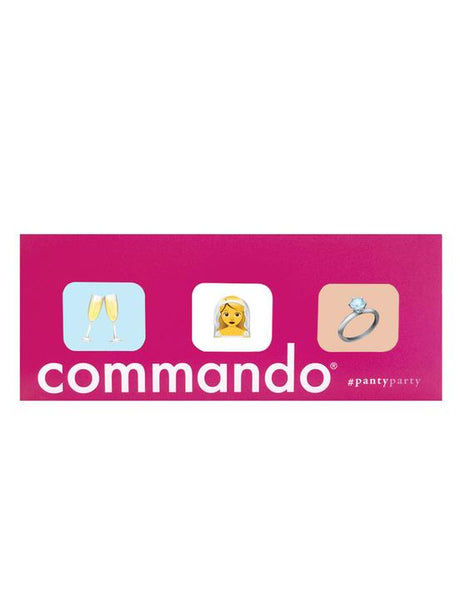 COMMANDO #PantyParty Wedding 3-Pack