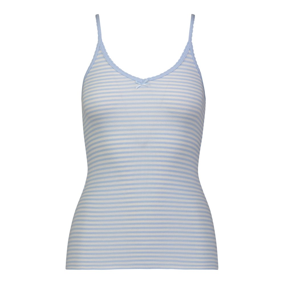 Polkadot CAMISOLE Lt Blue Sailor Stripe