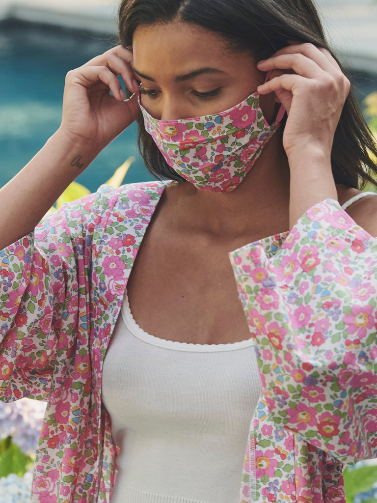 LIBERTY PRINT MASK Lookbook