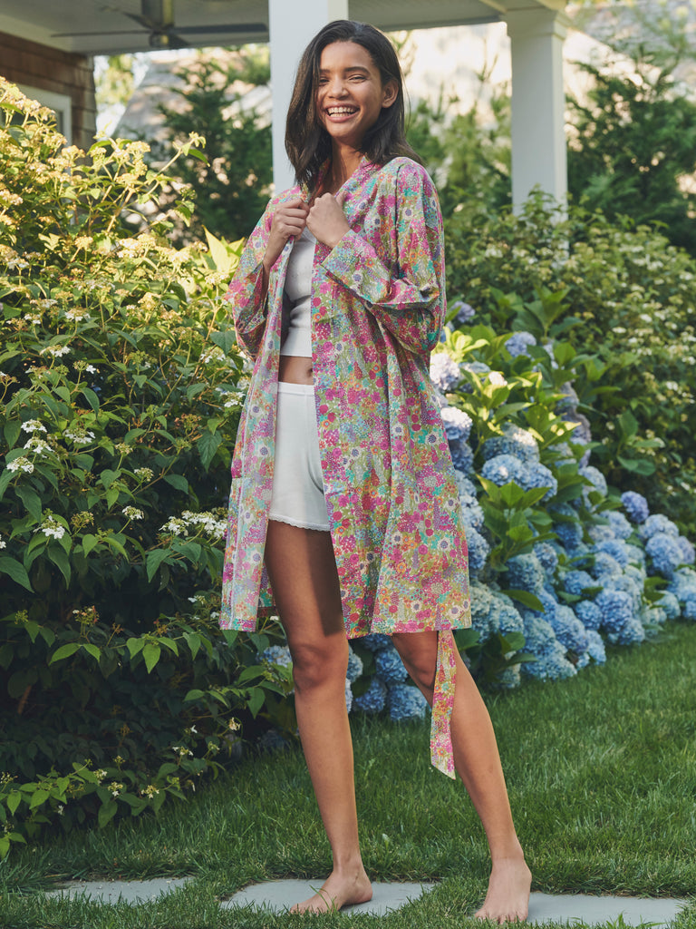 Liberty Print Robes & Shorts Lookbook