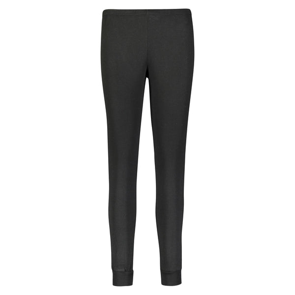 *Polkadot USA Womens Black Ribbed Jogger*