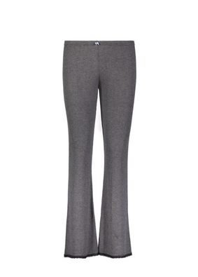 *Polkadot USA Womens Charcoal Grey Ribbed Long Pant*