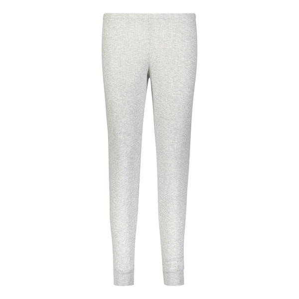Polkadot USA Womens Grey Ribbed Jogger