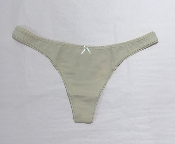 EBERJEY ~ Everyday Pima cotton thong