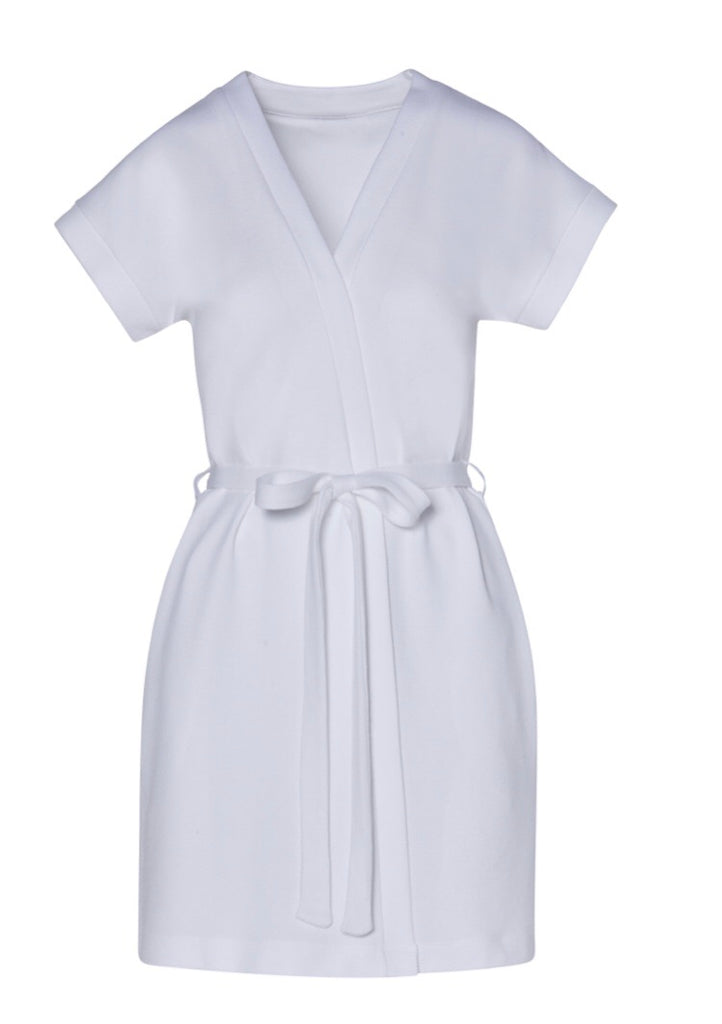 CARMEN VON GLASER Carolina Short sleeved robe piquet