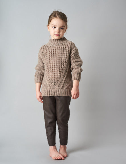 BELLE ENFANT~ Cable Knit Sweater