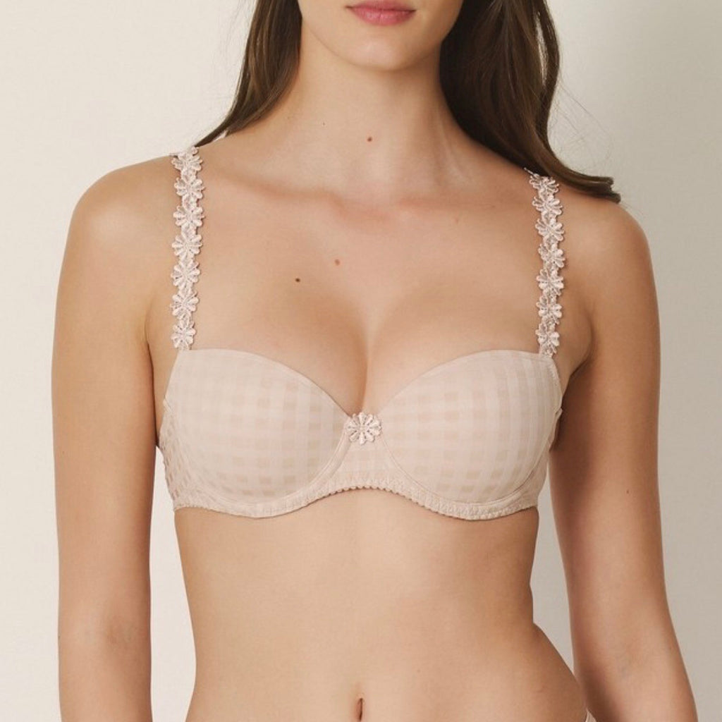 MARIE JO Avero Plaid Demi Bra