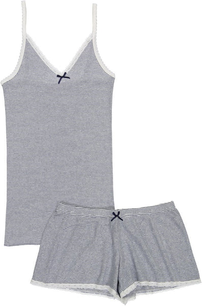 Polkadot usa Women Cami + Short Set