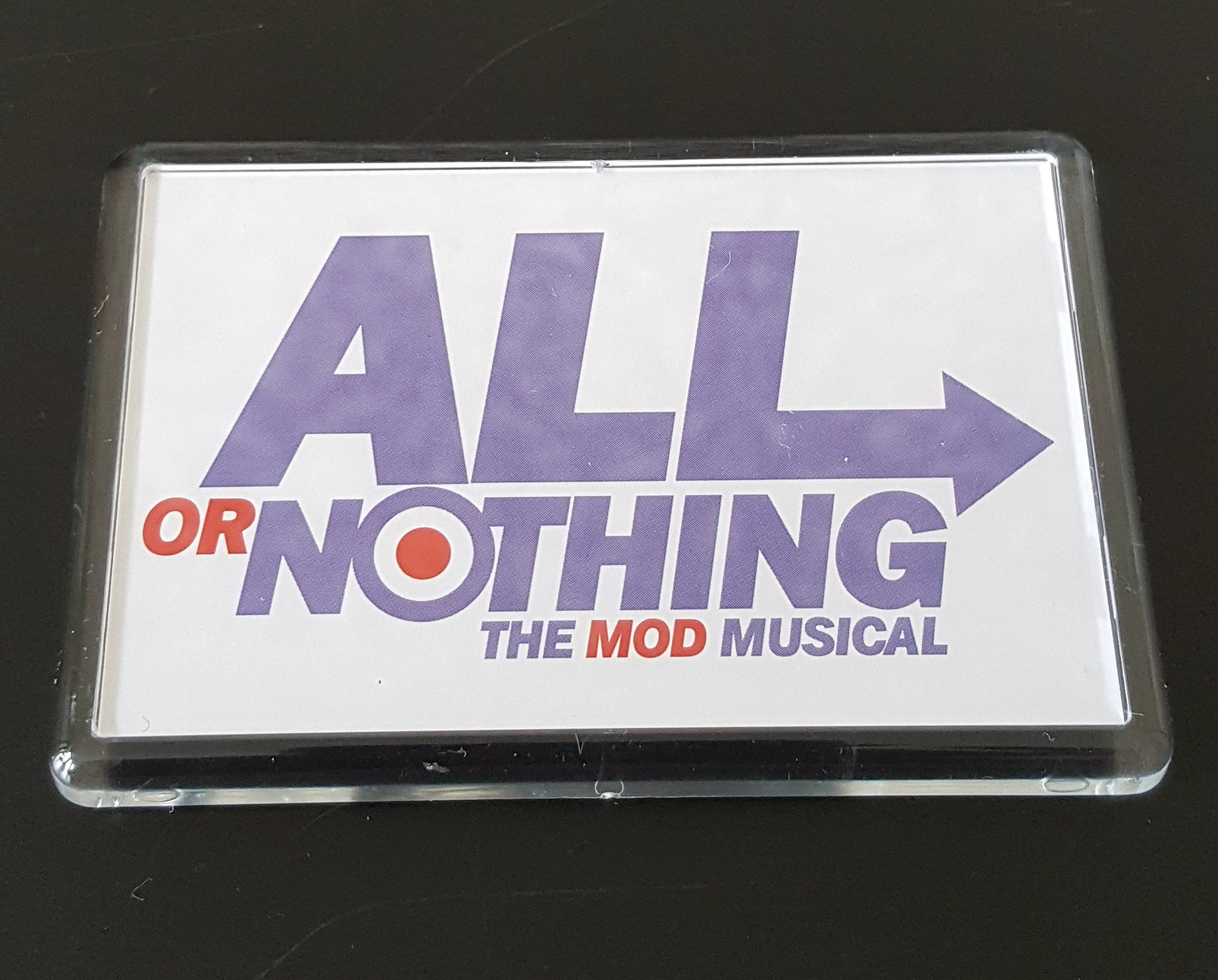 Fridge Magnet - All or Nothing