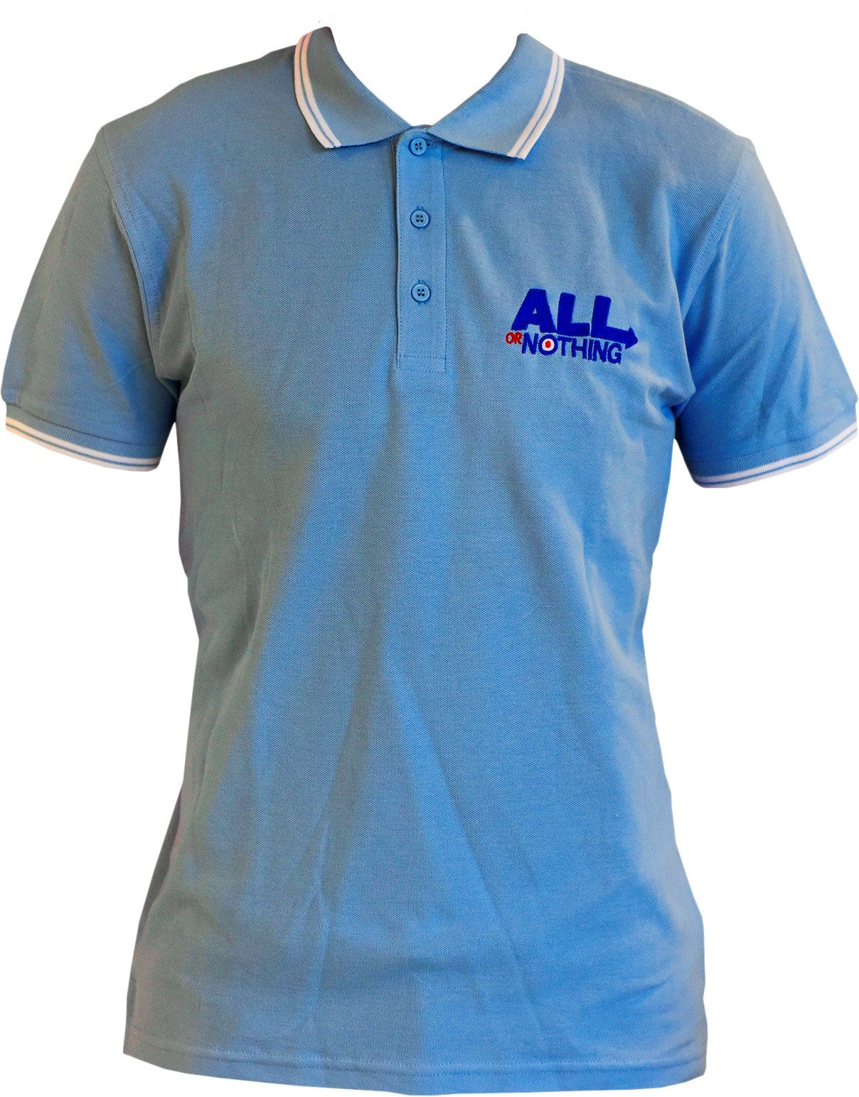 Polo Shirt -Pale Blue