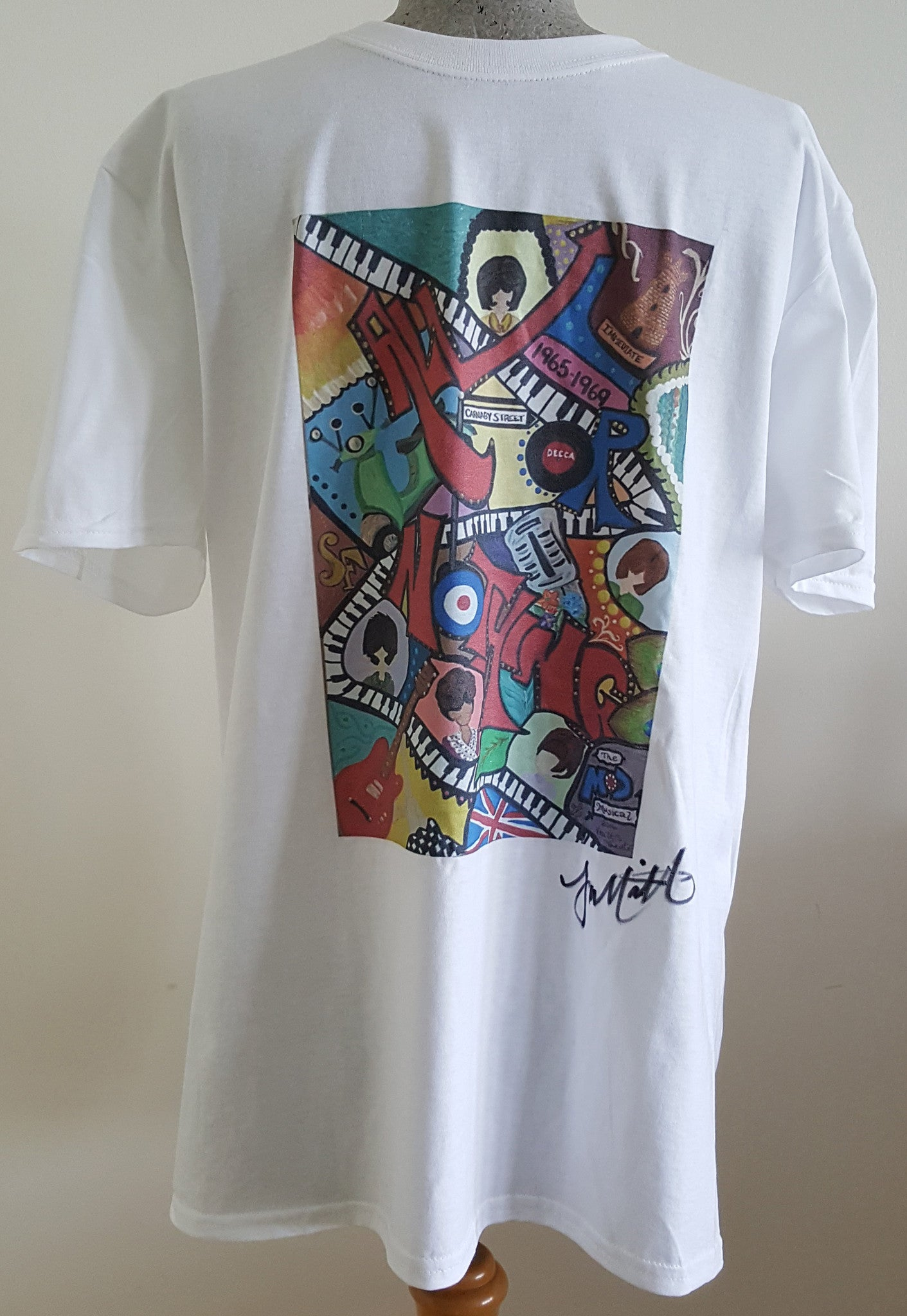 Tee Shirt Abstract by Tonya Marriott