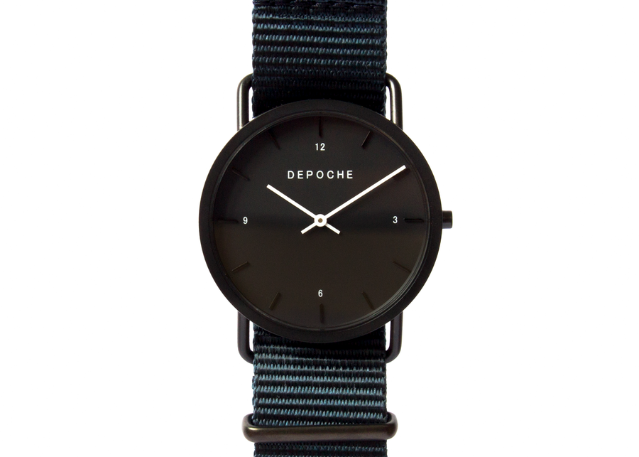 Depoche-trench-watch-black-indigo