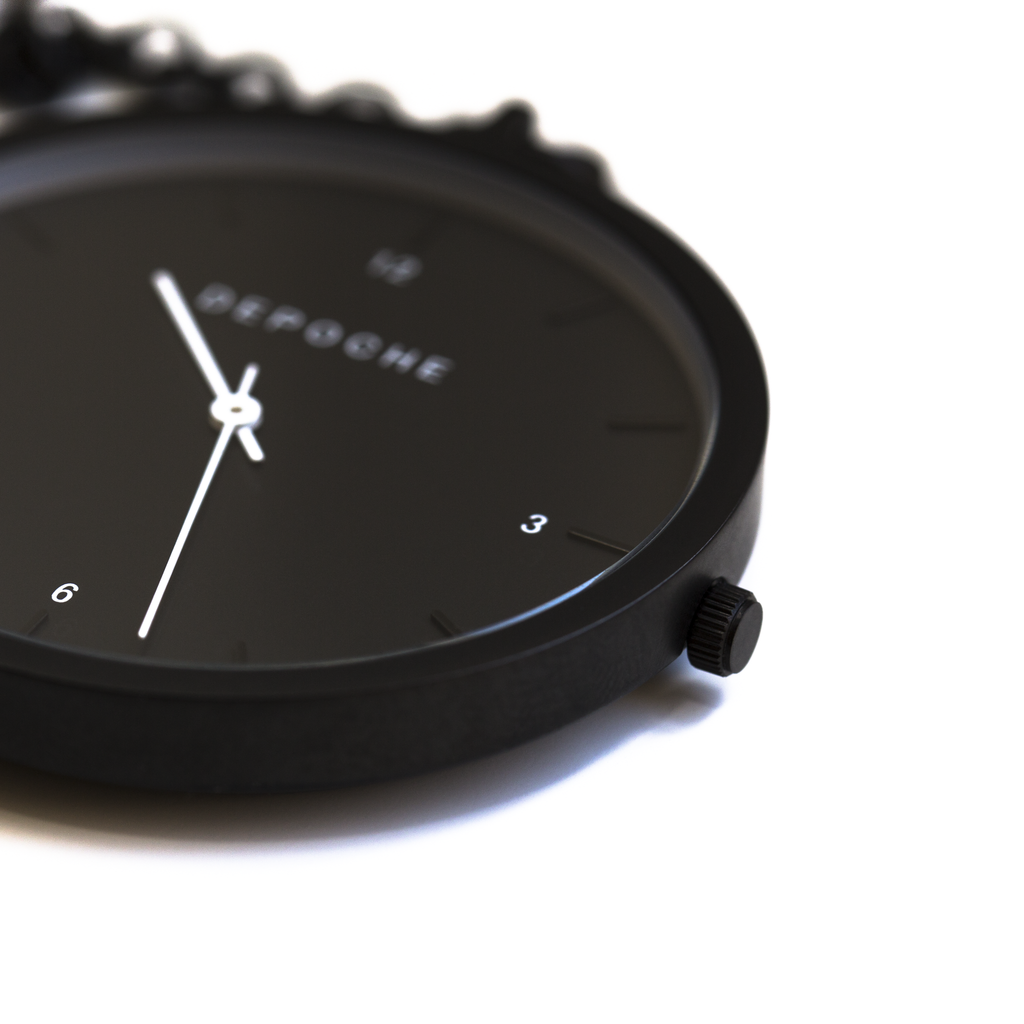 Black Pocket watch - DEPOCHE | Pocket & Trench Watches - 3