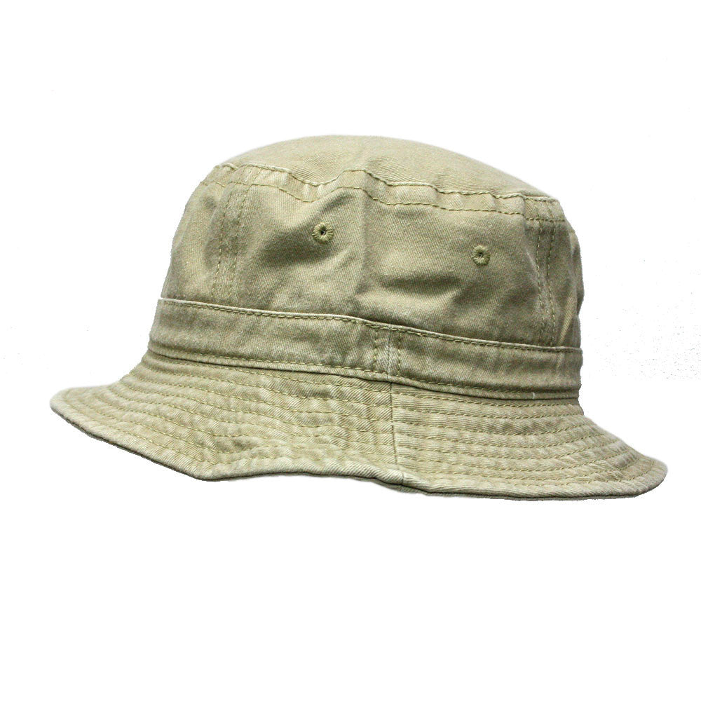 8639ff8f1ec Washed Pigment Dyed Cotton Twill Bucket Hats - The Vintage Year