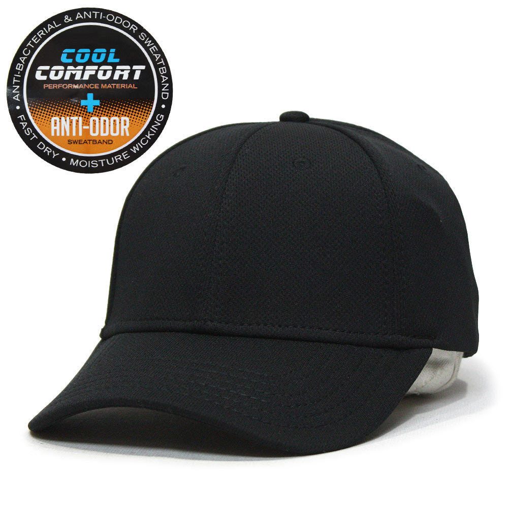 880e753b3bb Cool Comfort Polyester Mesh with Anti-Odor Sweatband Low Profile Adjustable Baseball  Caps