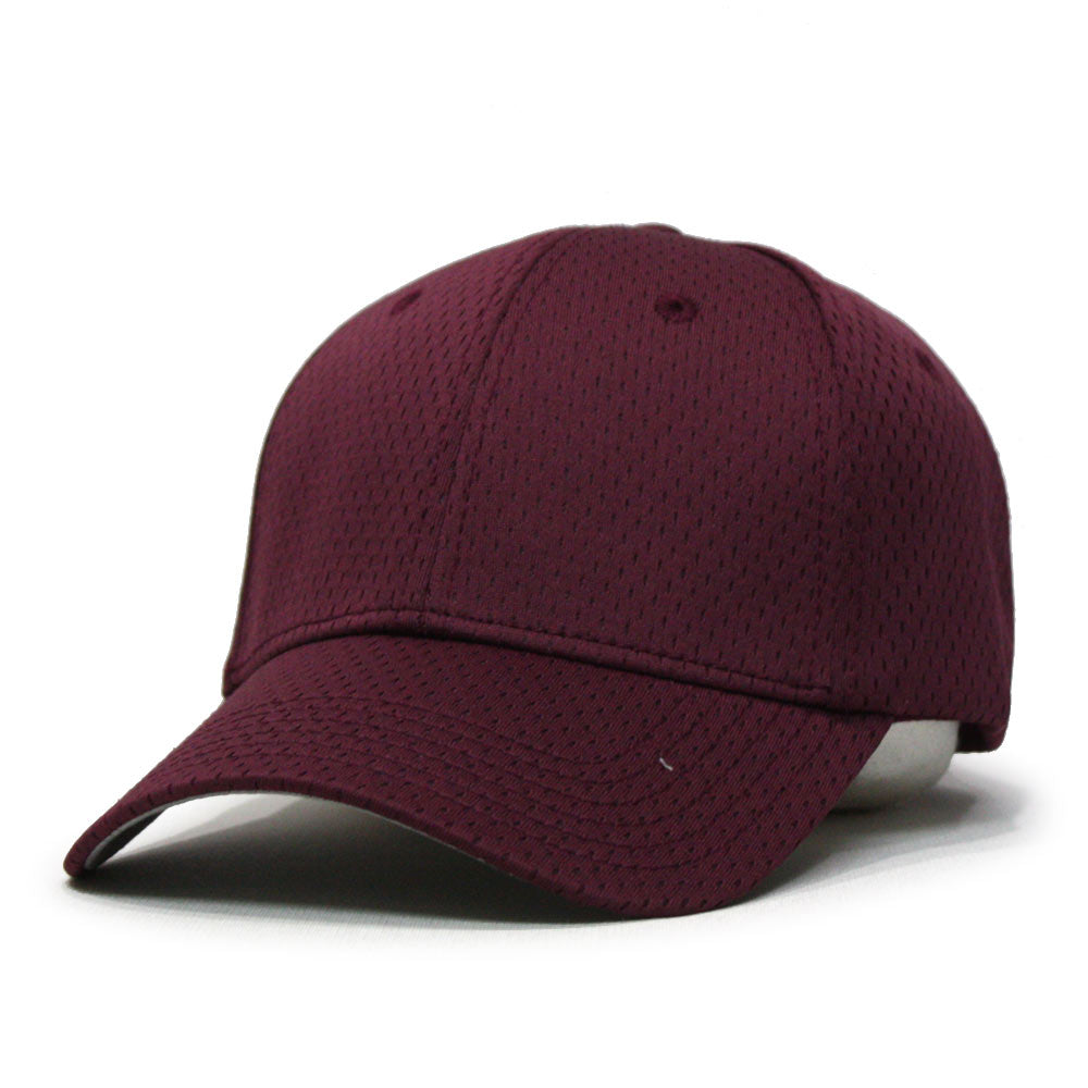 Plain Pro Cool Mesh Low Profile Adjustable Sport Baseball Cap - The ... 4b693d51e06