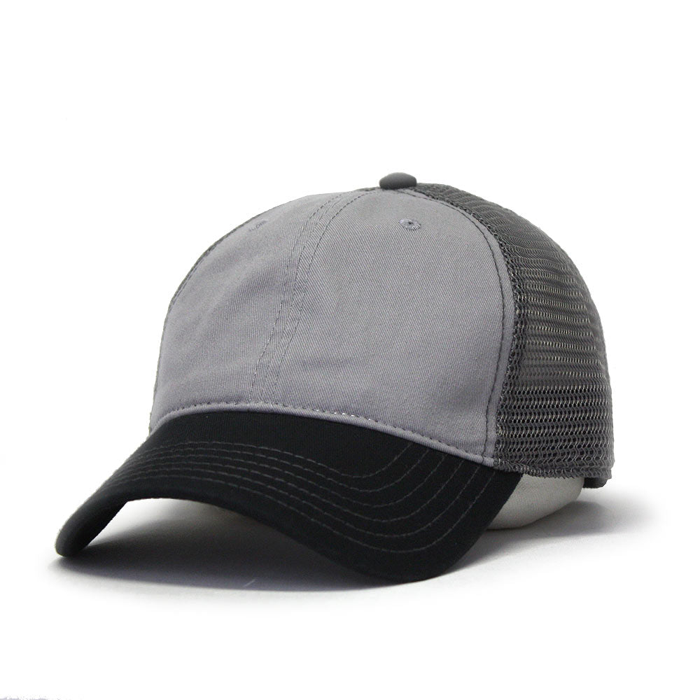 458308c1 Two Tone Jersey Knit Low Profile Adjustable Baseball Cap - The ...