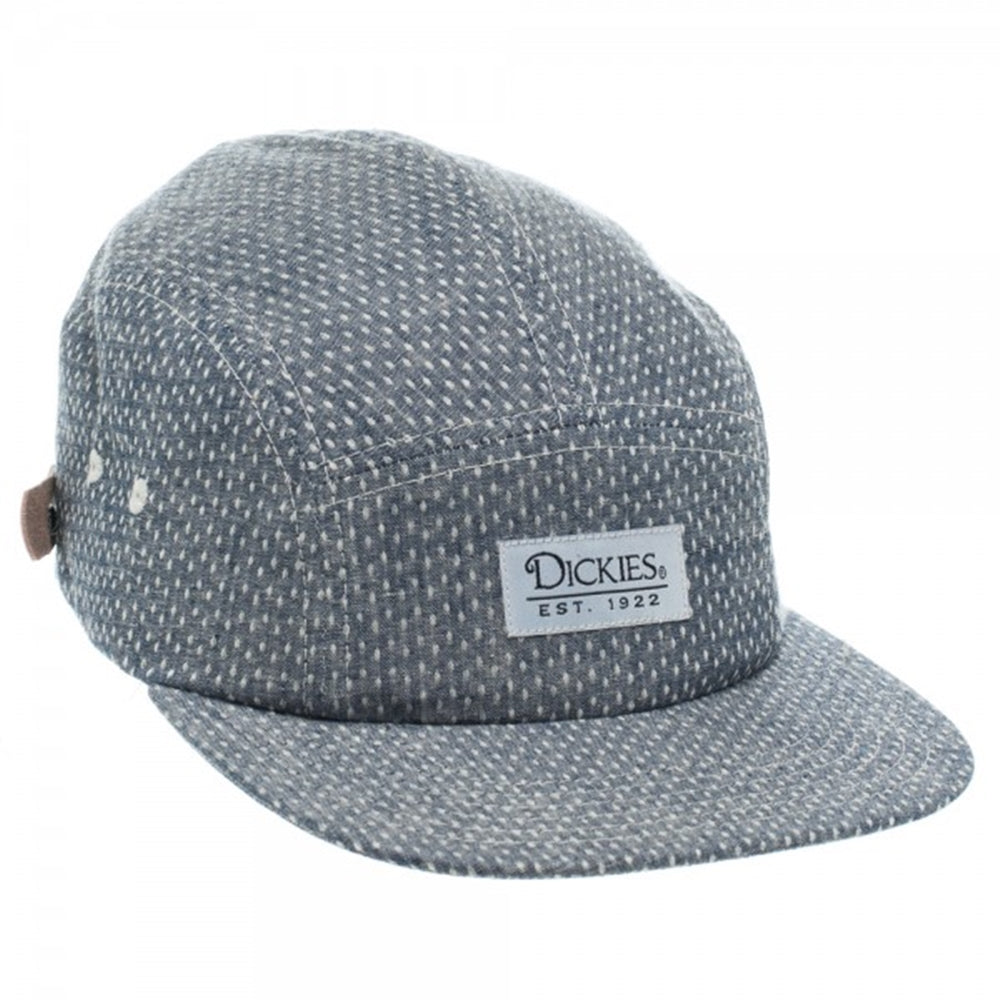 Dickies Jacquard Chambray Navy Adjustable Strapback Camper - The ... f85bed9f38ed