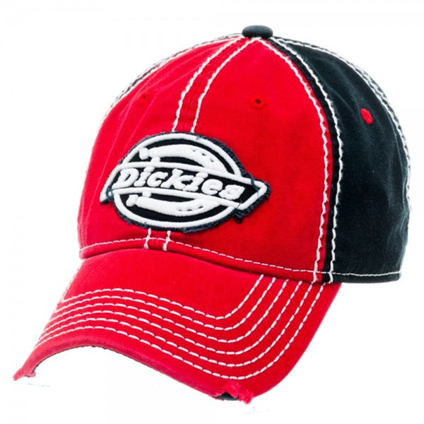1d55f9f7 Dickies Heavy Stitching Color Block Distressed Adjustable Dad Hat Baseball  Cap