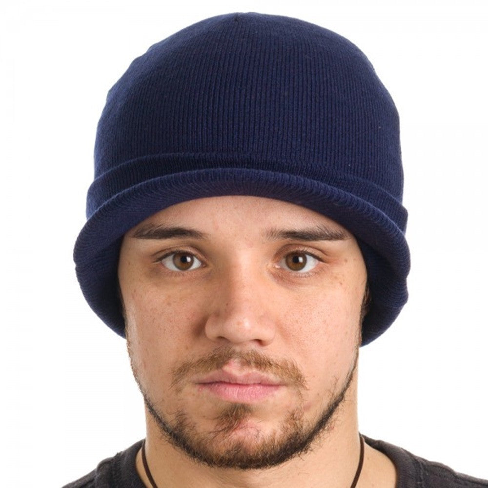 0862b12f09787 Dickies Men s Core 874 Billed Knit Radar with Cuff Beanie - The ...