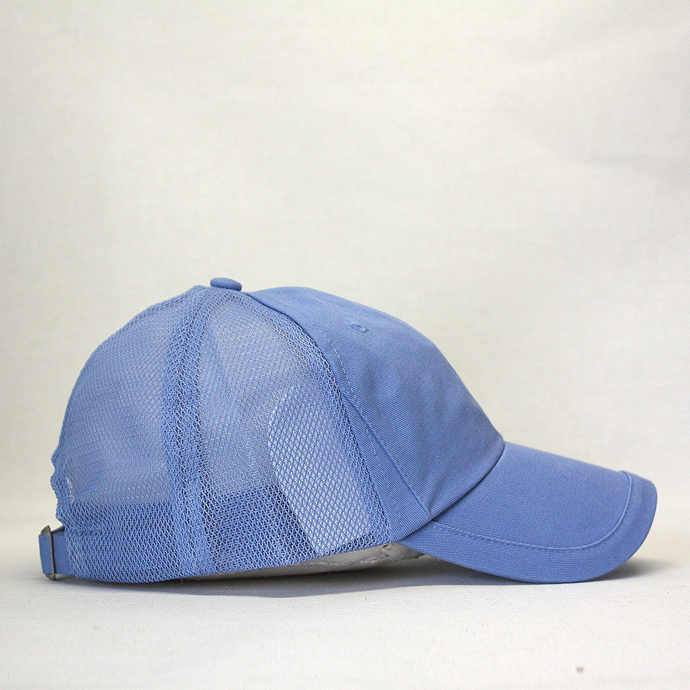Trimmed Visor Cotton Soft Mesh Adjustable Dad Hat Baseball Cap 24e348b33858