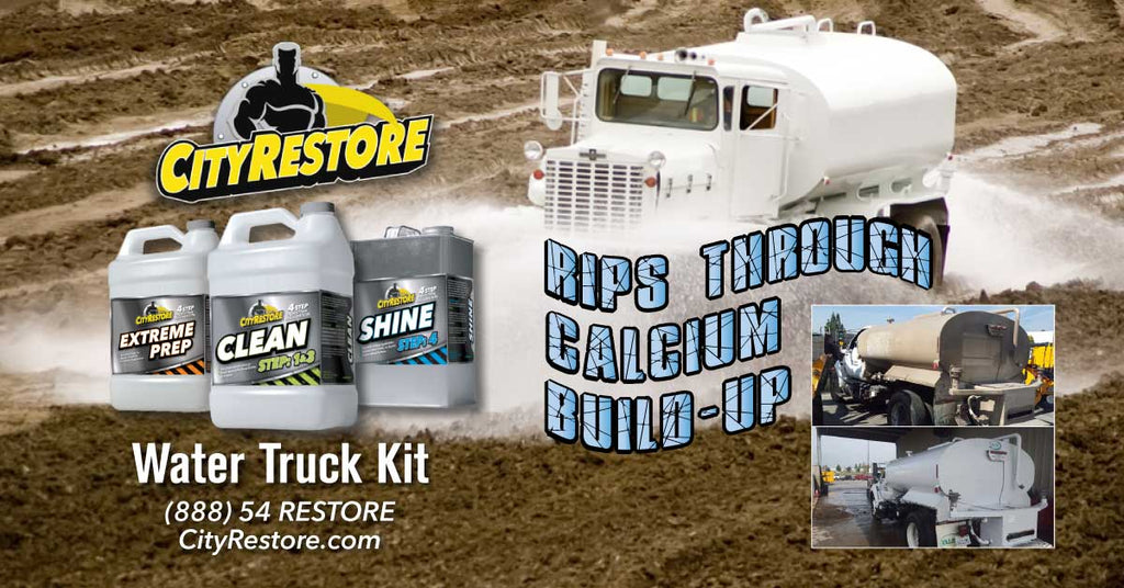 Our Water Truck Kit will Rip Through Calcium