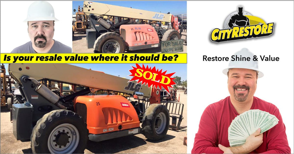 Maintain, or Even Increase the Resale Value of your Heavy Equipment with CityRestore