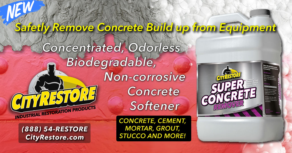 A Solution for Concrete Build-up