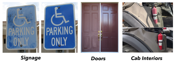 Restore Signs, Entry/Garage Doors, Cab Interiors