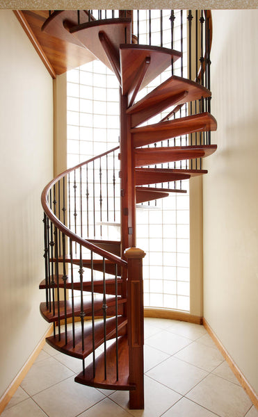 Traditional Curved Staircase