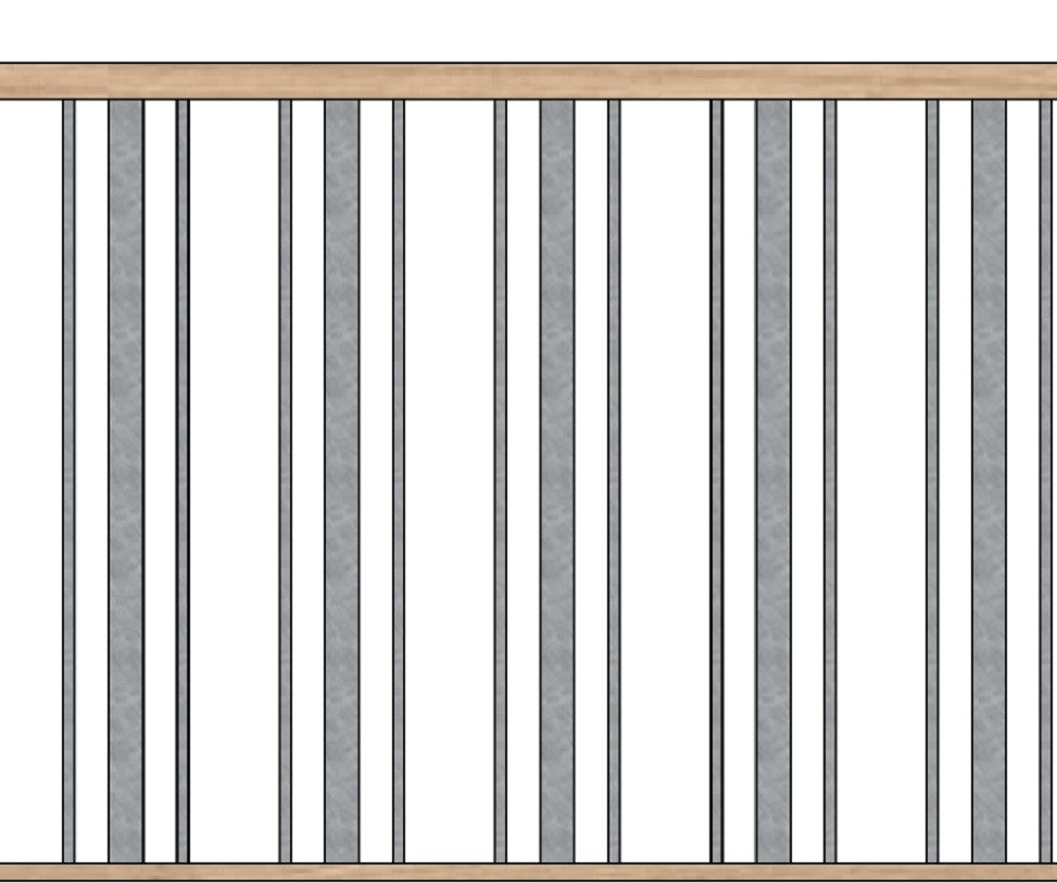 Blank/Ribbon/Blank Grouped in Panels