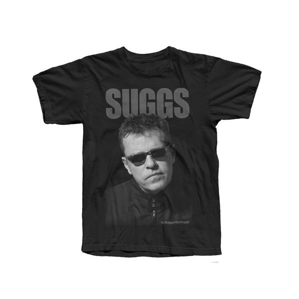 IN SUGGS WE TRUST BLACK T-SHIRT