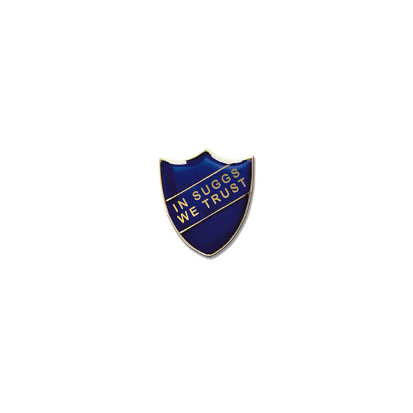 SUGGS PREFECT BADGE