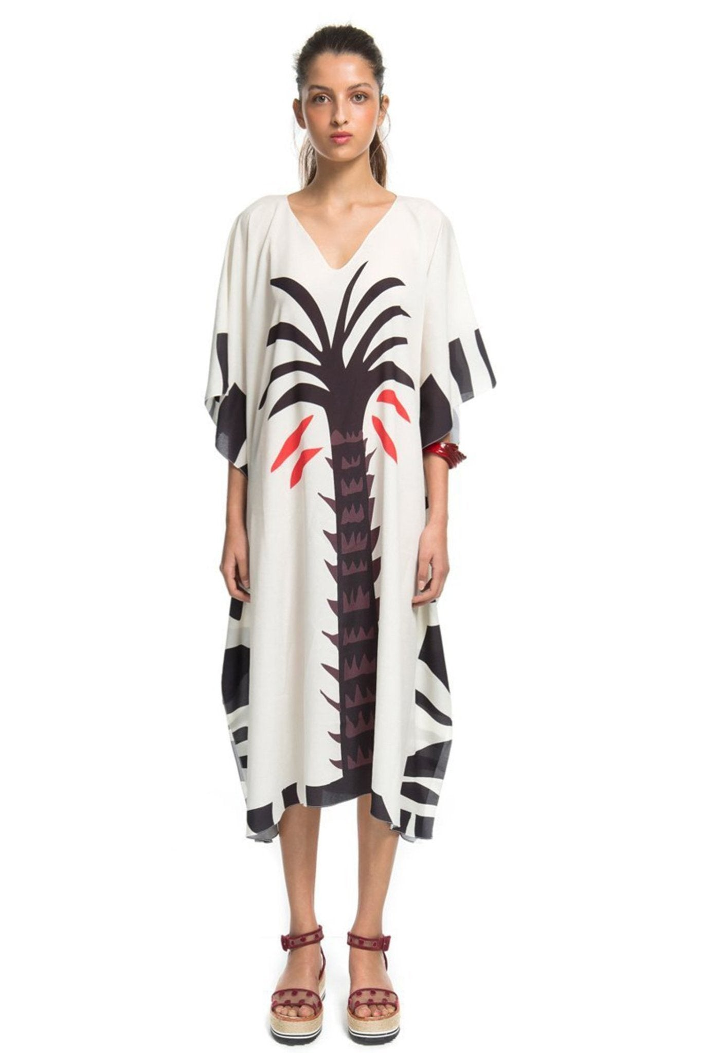 PALM TREE CAFTAN