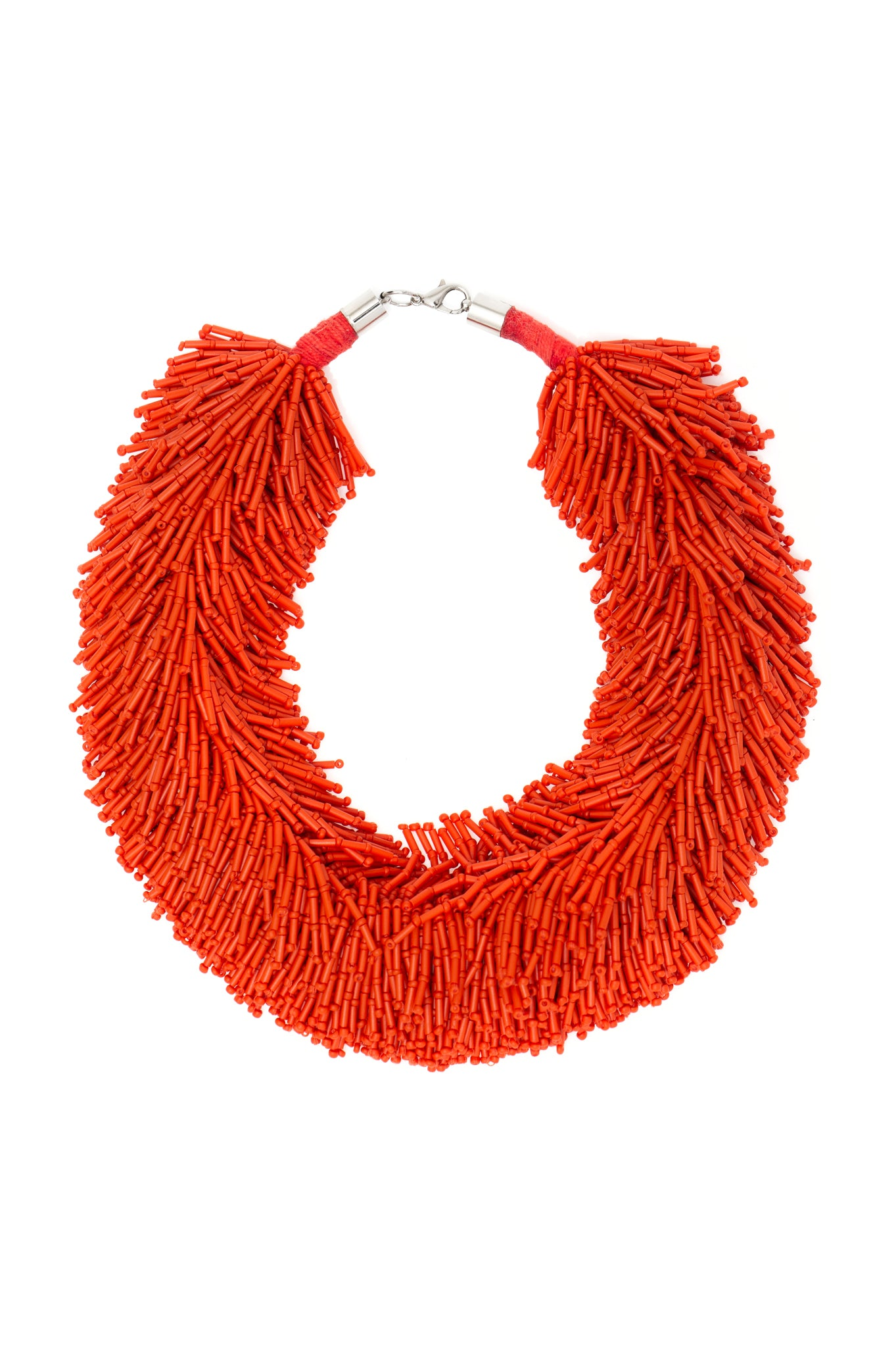 ORANGE SHOWER NECKLACE