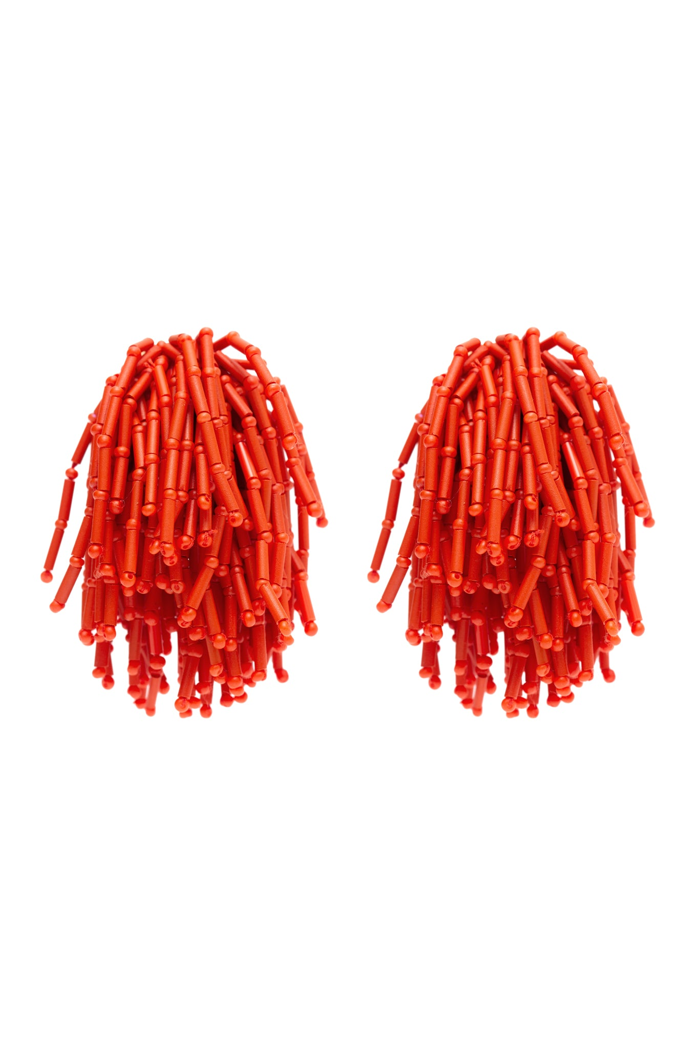 ORANGE SHOWER EARRINGS