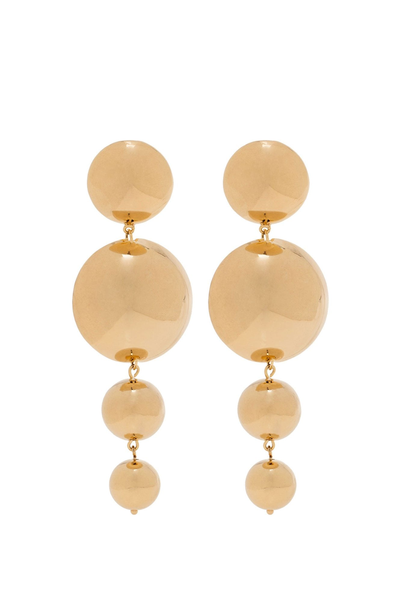 GOLDEN FOUR BALLS EARRINGS