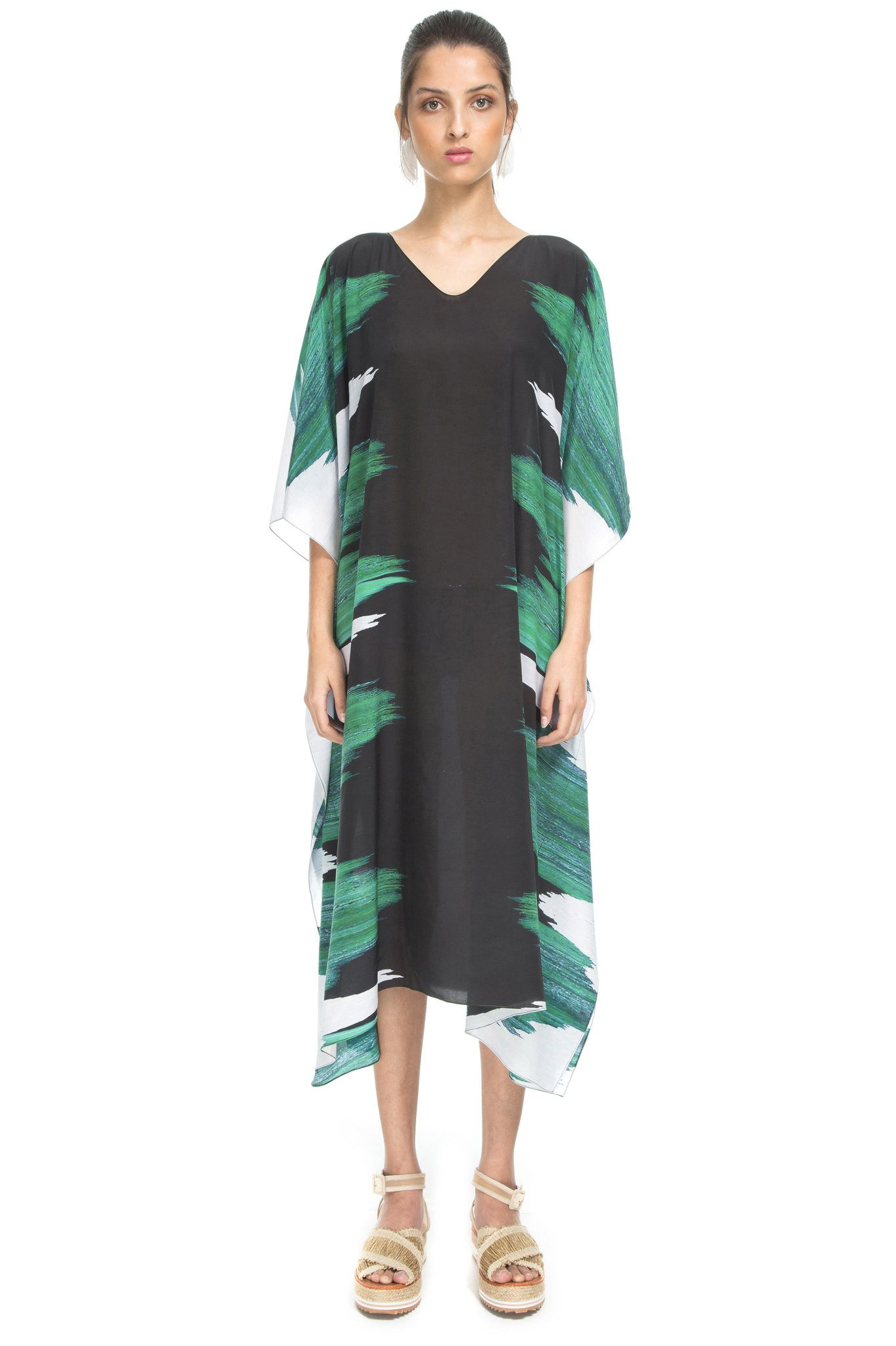 GREEN SEA CAFTAN