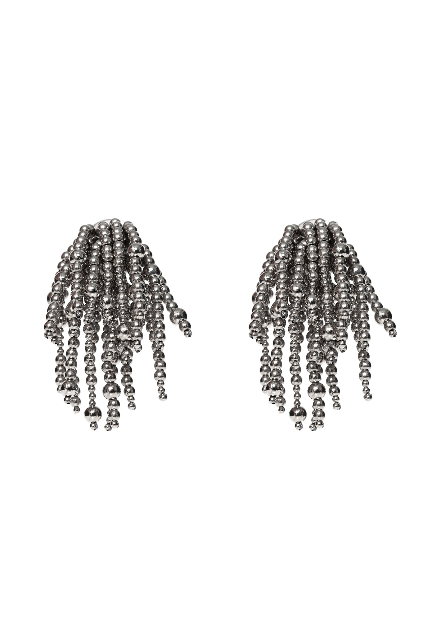 NICKEL URCHIN EARRINGS
